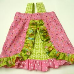 """Hi, I'm Anshu fromBlooms and Bugsand today I'll show you how to make this cute """"My little butterfly romper"""" for a 3-6 months old. For 3-6 months old infant size: 1 fat quarter 1 layer cake..."""