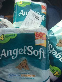 Angel soft wasted ! Couponing is fun!