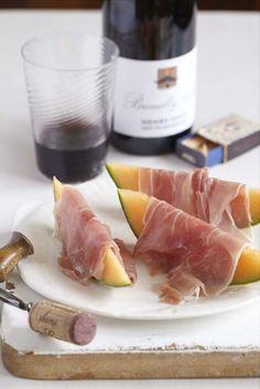 prosciutto and melone