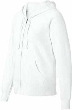 Plush White Zip Up Hoodie... #white #zip #up #hoodie #hoodies ...