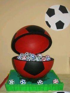 Resultado de imagem para centro de mesa del barcelona Soccer Party, Sports Party, 7th Birthday, Happy Birthday, Splash Party, Ideas Para Fiestas, Birthdays, Baby Shower, Holiday