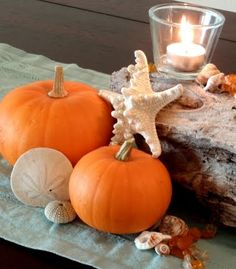 Coastal Fall Centerpiece