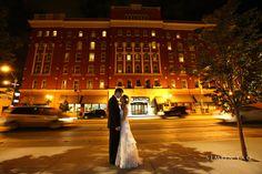 Night shot  simonyao.com   #weddingreception  #weddingportraits  #columbusweddings  Columbus Ohio Wedding Photographer