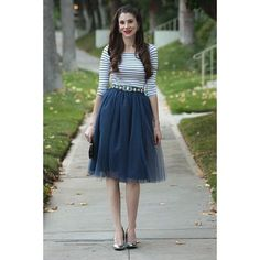 Tricky Trend Tuesday: Tulle Skirt