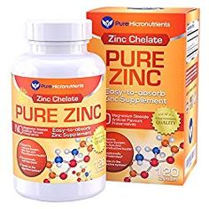 Highly absorbable Pure Zinc Supplement from Pure Micronutrients is a must-have addition to your Stress Relief or Anti-Anxiety Kit. Zinc Supplements, Supplements For Anxiety, Nutritional Supplements, Weight Loss Supplements, Best Zinc Supplement, Zinc Capsules, Immune System Boosters, Stress Symptoms, Natural Treatments
