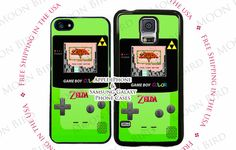 Vintage Zelda Gameboy Color Phone Case Cover for by MoonBirdCases