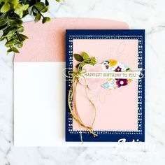 Hello there stamping friends! I hope you are having a fabulous week. It's been a busy one here with my kids home for school holidays and al. Different Holidays, Beautiful Handmade Cards, Hand Embroidery Stitches, Needle And Thread, Greeting Cards Handmade, Stampin Up Cards, Fun Projects, School Holidays, Needlepoint