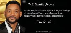 """Will Smith Quotes - """"I've never really viewed myself as particularly talented. I've viewed myself as slightly above average in talent."""""""