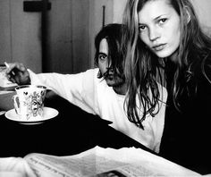90s Throwback: Johnny Depp & Kate Moss | Trendland: Design Blog & Trend Magazine