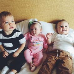 Three of the cutest kids on the Internet!!! Ollie (Daily Bumps), Macy Gaines (Cullen & Katie), Jackson (Ellie & Jared)