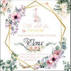 Baby Scrapbook Pages, Invitation Background, Green Box, Magnolia, Little Girls, Birthdays, Wreaths, Frame, Graduation