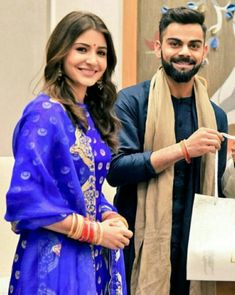 Virat Kohli and Anushka Sharma Bollywood Couples, Bollywood Wedding, Bollywood Fashion, Bollywood Style, Indian Celebrities, Bollywood Celebrities, Bollywood Actress, Celebrities Fashion, Anushka Sharma Virat Kohli