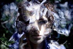 Wonderland : Danaus (Queen of the butterflies)   Kirsty Mitchell #photography   http://www.kirstymitchellphotography.com/