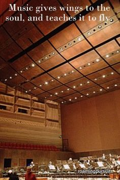 Musicians' Haven Concert Hall, Auditorium, Orchestra, Musicians, Teaching, Quotes, Quotations, Education, Music Artists