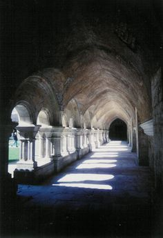 Abbaye de Fontenay Cloisters