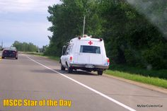 MSCC June 1 Star of the Day-new month at MSCC, old ambulance. READ MORE: http://mystarcollectorcar.com/mscc-may-30-star-of-the-day-79-chrysler-300-the-name-carried-on-with-a-70s-vibe/ #73PontiacSuperiorCoachambulance