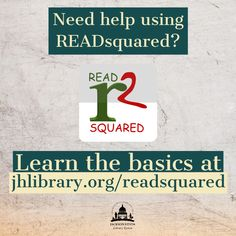 SUMMER READING PROGRAM UPDATE: The READsquared platform for the 2020 Summer Reading Program is new to everyone. Find out all you need to know on how to use it at jhlibrary.org/readsquared. #SRP2020 #ImagineYourStory