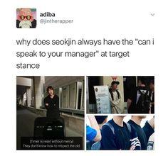 Seokjin, lol