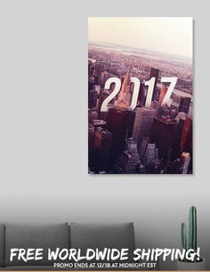 Discover «Ney York 2017», Limited Edition Acrylic Glass Print by Sonda - From $75 - Curioos