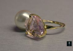 Items similar to Fashion Pink Glass Ring with white Pearl -Gold plated- Valentines Gift Ideas on Etsy Glass Ring, Bridal Jewelry, Unique Jewelry, Pink Fashion, Statement Jewelry, Pearl White, Valentine Gifts, Gemstone Rings, Gift Ideas