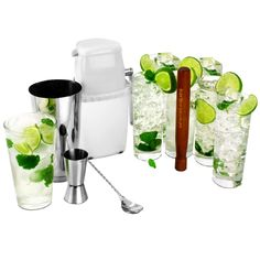Mojito Cocktail Kit | Cocktail Making Kit Cocktail Shaker Set - Buy at drinkstuff