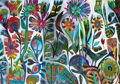 este macleod Birds of paradise 50x100cm