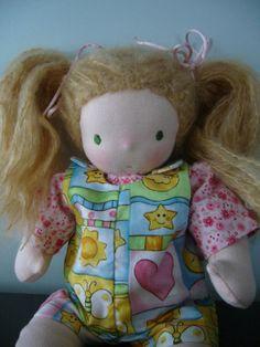 Venda, venda, venda - boneca Waldorf Orgânica, de 12 polegadas, materiais naturais
