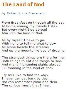 by Robert Louis Stevenson