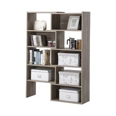 Homestar Flexible and Expandable Shelving Storage Bookcase | Overstock.com Shopping - The Best Deals on Book Racks