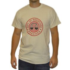 """""""A League Of Their Own"""" Movie Dottie Hinson #8 Rockford Peaches All-American Girls Professional Baseball League Jersey-Style T-Shirt, $26 via 'MyPartyShirt' on Amazon.Com"""