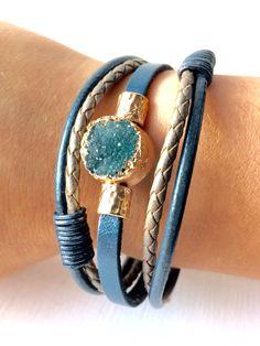 Blue bracelet, Biba #bracelet #biba #boho #armband #smycken