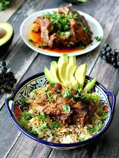 Slow Cooker Beer Ribs Rice Bowl 15 Delicious And Hassle-Free Slow Cooker Dinners You Need In Your Life Ground Beef Recipes, Pork Recipes, Slow Cooker Recipes, Crockpot Recipes, Vegetarian Recipes, Chicken Recipes, Cooking Recipes, Crockpot Meat, Slow Cooker Ribs