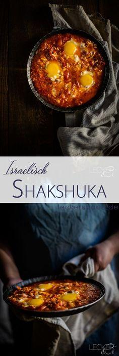 Shakshuka | Tomaten mit Knoblauch, Chili und Ei