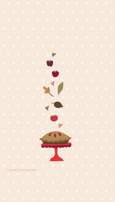 Sweetie Pie iPhone Wallpaper from LaurenConrad.com