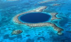 Great Blue Hole Near Belize.