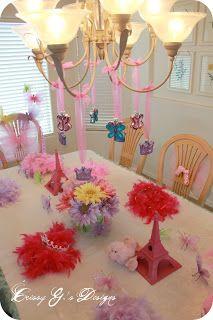Lauren's Fancy Nancy Birthday Party