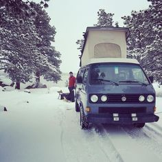 Winter is still hanging around in Northern Colorado. Doesn't bother @puckvancamper tho! Check out their adventure.  #vanlife #vanlifecolorado  #homeiswhereyouparkit #adventuremobile  #livesimply #vanliving #campervan #stealthcamper #tinyhouse #vansion #van #vanning #instagood #vanning #picoftheday #rvlife #wheelestate #vanlifestyle #photooftheday #colorado #coloradical #campervan #expeditionportal #vandwellinglife  #vwbus #vanlifediaries #advanture #vw #redfeatherlakes #westfalia by…