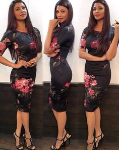 Daisy Shah dress edit