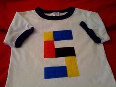Lego shirt for birthday boy