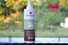 Notebook of Claire: Messinian Spa Micellar Lotion make-up remover 3 in...