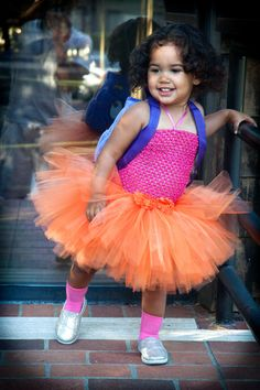 Dora The Explorer Inspired Tutu Costume with Backpack for Toddlers, Baby Girls, Fun Dora Tutu Dress on Etsy, $39.99