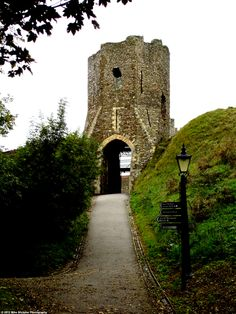 Colton's Gate at Dover Castle, Kent, England. Note the cannonball holes.