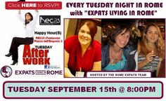 Are you coming to Meet UP AfterWork on Tuesday September 15th