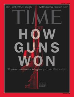 Four Decades Of Magazine Gun Violence Covers