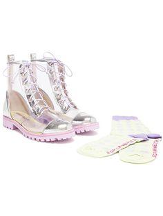Mode Femme 2018 - Marques de luxe, Créateurs. Bottines Transparentes  Chaussures  Femme ... 65ce68cdc52e