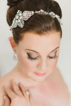 Classic Old Hollywood Glamour at Highlands Country Club Old Hollywood Wedding, Old Hollywood Glamour, Best Wedding Hairstyles, Bride Hairstyles, Wedding Hairdos, Hairstyle Ideas, Hair Ideas, Wedding Gowns, Mod Wedding