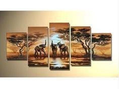 Modern Abstract landscape oil painting:elephant (no framed) - via eBay http://www.ebay.com/itm/Modern-Abstract-landscape-oil-painting-elephant-no-framed-/230839833766?pt=Art_Paintings=item35bf2054a6