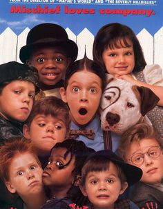 """""""The Little Rascals"""" Re-Created Their Movie Poster 20 Years Later (Click on picture to go to link) So funny!!"""