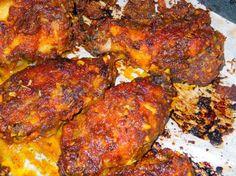 Pineapple Cajun/Jerk Chicken Wings