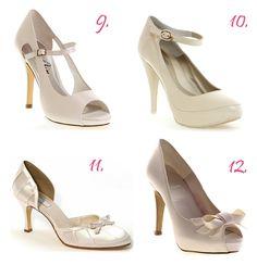 Colección 2012 de zapatos de novia Enepe